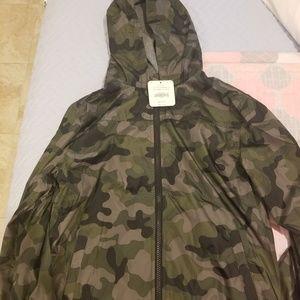 Gymboree boy's light fleece hoodie jacket